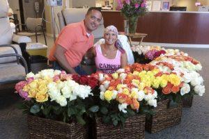 Surpresa no último dia de quimioterapia