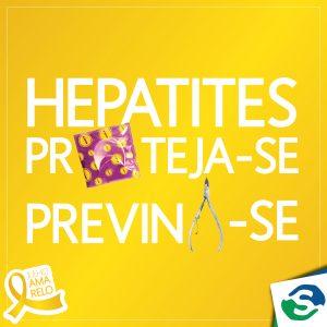 Julho Amarelo: Com as hepatites virais todo cuidado é pouco!