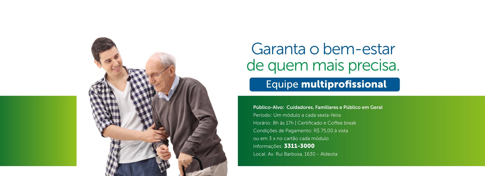 Curso Cuidadores e Familiares